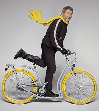 Niezwykły rower wg projektu Ph. Starcka.