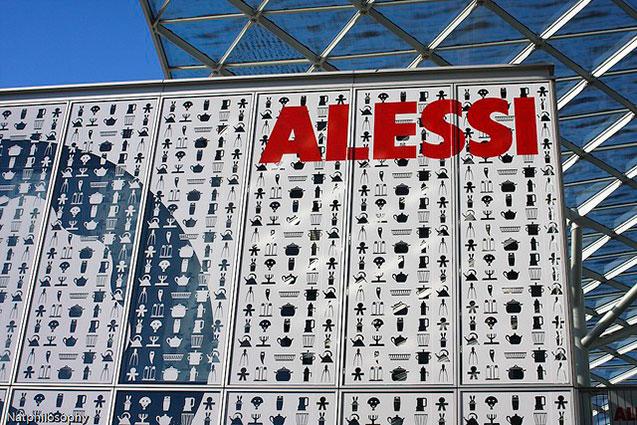 Pawilon targowy Alessi.