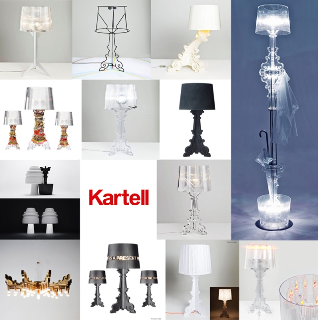 Bourgie Lampy Kartell
